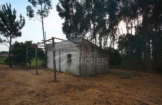 3022 | Terreno urbano com construção, aldeia a 10 minutos de Óbidos